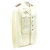 show larger image of product view 2 : Original German WWII Artillery Officer Lieutenant White Summer Uniform Tunic Jacket Original Items