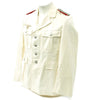 show larger image of product view 3 : Original German WWII Artillery Officer Lieutenant White Summer Uniform Tunic Jacket Original Items