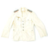 show larger image of product view 9 : Original German WWII Artillery Officer Lieutenant White Summer Uniform Tunic Jacket Original Items