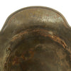 show larger image of product view 11 : Original Imperial German WWI M16 Stahlhelm Helmet Shell with Panel Camouflage Paint - marked Q.66 Original Items
