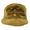 show larger image of product view 11 : Original German WWII Model 43 Afrika Korps Tropical Field Cap dated 1943 - Tropeneinheitsfeldmütze M43 Original Items