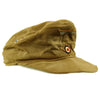 show larger image of product view 6 : Original German WWII Model 43 Afrika Korps Tropical Field Cap dated 1943 - Tropeneinheitsfeldmütze M43 Original Items
