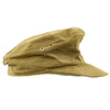 show larger image of product view 7 : Original German WWII Model 43 Afrika Korps Tropical Field Cap dated 1943 - Tropeneinheitsfeldmütze M43 Original Items