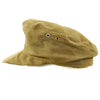 show larger image of product view 9 : Original German WWII Model 43 Afrika Korps Tropical Field Cap dated 1943 - Tropeneinheitsfeldmütze M43 Original Items