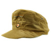 show larger image of product view 10 : Original German WWII Model 43 Afrika Korps Tropical Field Cap dated 1943 - Tropeneinheitsfeldmütze M43 Original Items