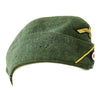 show larger image of product view 4 : Original German WWII Kriegsmarine Coastal Artillery M38 Overseas Wool Cap size 58 1/2 Original Items