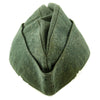 show larger image of product view 6 : Original German WWII Kriegsmarine Coastal Artillery M38 Overseas Wool Cap size 58 1/2 Original Items