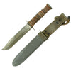 show larger image of product view 1 : Original U.S. WWII USN Mark 2 KA-BAR Fighting Knife by Robeson Cutlery Co. with USN MK2 Scabbard Original Items