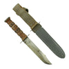 show larger image of product view 2 : Original U.S. WWII USN Mark 2 KA-BAR Fighting Knife by Robeson Cutlery Co. with USN MK2 Scabbard Original Items