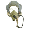 show larger image of product view 23 : Original British Post WWII RAF MK-1A Flight Helmet with Visors - Oxygen Mask - Storage Case Original Items
