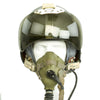 show larger image of product view 7 : Original British Post WWII RAF MK-1A Flight Helmet with Visors - Oxygen Mask - Storage Case Original Items