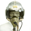 show larger image of product view 3 : Original British Post WWII RAF MK-1A Flight Helmet with Visors - Oxygen Mask - Storage Case Original Items