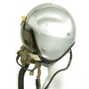 show larger image of product view 4 : Original British Post WWII RAF MK-1A Flight Helmet with Visors - Oxygen Mask - Storage Case Original Items