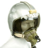 show larger image of product view 6 : Original British Post WWII RAF MK-1A Flight Helmet with Visors - Oxygen Mask - Storage Case Original Items