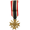show larger image of product view 4 : Original German WWII Identified Kriegsmarine War Service Cross Medal with Award Document, Packet and Photo Original Items