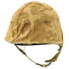 show larger image of product view 1 : Original U.S. Late WWII Korean War M1 Helmet with USMC HBT Camouflage Cover and Firestone Liner Original Items
