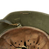 show larger image of product view 14 : Original Austrian WWI M17 Helmet Converted WWII German SS with Double Paper Decals - Size 66 Original Items
