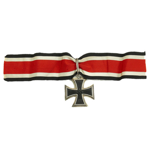 Original High End Replica German WWII Knight's Cross of the Iron Cross with Ribbon - Ritterkreuz Original Items