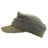 show larger image of product view 4 : Original German WWII Luftwaffe Service Worn M43 Einheitsmütze Wool Field Cap - size 55cm Original Items