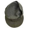 show larger image of product view 8 : Original German WWII Luftwaffe Service Worn M43 Einheitsmütze Wool Field Cap - size 55cm Original Items