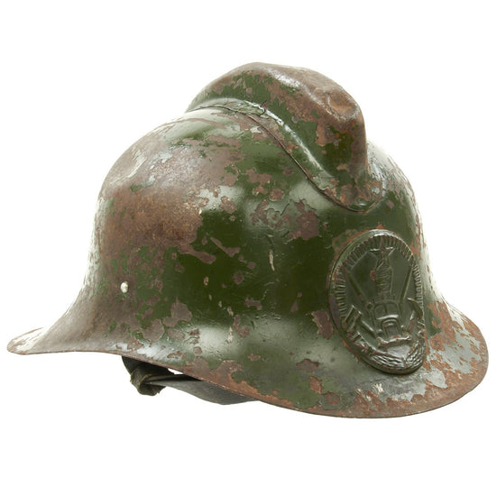Original 1961 Soviet USSR Russian Fire Helmet Type M-103-61 Original Items