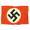 show larger image of product view 1 : Original German WWII Mid-War NSDAP Party BeVo Embroidered Insignia Armband Original Items