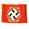 show larger image of product view 6 : Original German WWII Mid-War NSDAP Party BeVo Embroidered Insignia Armband Original Items