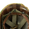show larger image of product view 14 : Original U.S. Vietnam War M1 Helmet with USMC Reversible Camouflage Cover Original Items