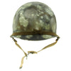 show larger image of product view 5 : Original U.S. Operation Desert Storm Iraqi M1 Steel Helmet with Camouflage Paint Original Items