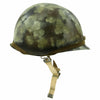 show larger image of product view 6 : Original U.S. Operation Desert Storm Iraqi M1 Steel Helmet with Camouflage Paint Original Items