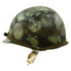 show larger image of product view 2 : Original U.S. Operation Desert Storm Iraqi M1 Steel Helmet with Camouflage Paint Original Items
