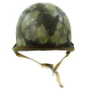 show larger image of product view 8 : Original U.S. Operation Desert Storm Iraqi M1 Steel Helmet with Camouflage Paint Original Items