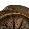 show larger image of product view 12 : Original German WWII Normandy Camouflage M40 Helmet with Unit Markings and 56cm Liner - Q64 Original Items