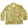 show larger image of product view 10 : Original U.S. WWII USMC P44 Camouflage Pattern 1944 Utility Coat - Size 40 Original Items