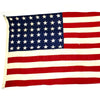 show larger image of product view 1 : Original U.S. WWII 48 Star Flag Philadelphia Quartermaster Depot - 5 Feet x 9 1/2 Feet Original Items