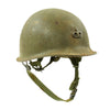 show larger image of product view 3 : Original U.S. Vietnam War M1 Helmet with Paratrooper Liner and Senior Jump Wings Original Items