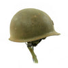 show larger image of product view 4 : Original U.S. Vietnam War M1 Helmet with Paratrooper Liner and Senior Jump Wings Original Items