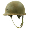 show larger image of product view 5 : Original U.S. Vietnam War M1 Helmet with Paratrooper Liner and Senior Jump Wings Original Items