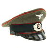 show larger image of product view 4 : Original German WWII Army Heer Named Artillery EM & NCO Visor Cap by E. Breuninger - Excellent Condition Original Items