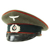 show larger image of product view 8 : Original German WWII Army Heer Named Artillery EM & NCO Visor Cap by E. Breuninger - Excellent Condition Original Items