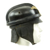 show larger image of product view 4 : Original German WWII 1st Pattern NSKK Crash Helmet with RZM Label - size 55 Original Items