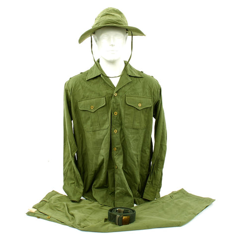 Original U.S. Vietnam War North Vietnamese Army NVA Viet Cong Uniform Set Original Items