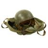 show larger image of product view 2 : Original U.S. Korean War Era P-1B Flight Helmet with Named VF 103 Carry Bag - Dated 1953 Original Items