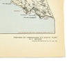 show larger image of product view 3 : Original Rare Allied WWII Invasion Map of Agay Harbor in Southern France for Operation Dragoon - Rade D'Agay Original Items
