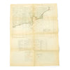 show larger image of product view 1 : Original Rare Allied WWII Invasion Map of Agay Harbor in Southern France for Operation Dragoon - Rade D'Agay Original Items