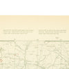 show larger image of product view 16 : Original Rare Allied WWII Invasion Map of Agay Harbor in Southern France for Operation Dragoon - Rade D'Agay Original Items