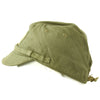 show larger image of product view 5 : Original WWII Japanese Naval Landing Forces Officer Cotton Forage Cap - SNLF Original Items