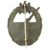 show larger image of product view 3 : Original German WWII Kriegsmarine Coastal Artillery Badge by C. E Juncker Berlin Original Items