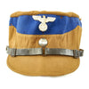 show larger image of product view 1 : Original German WWII SA Stormtrooper Tan and Blue Kepi from Gruppe Warthe with RZM Tag - Size 55 Original Items