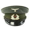 show larger image of product view 1 : Original German WWII Named DRB Bahnschutzpolizei Railway Police 56cm Visor Cap by Clemens Wagner Original Items